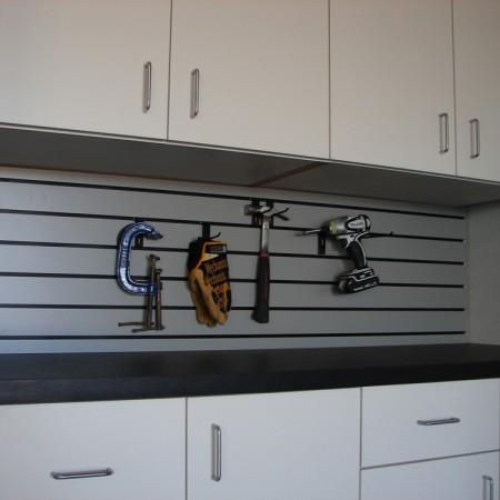 garage organization slat wall
