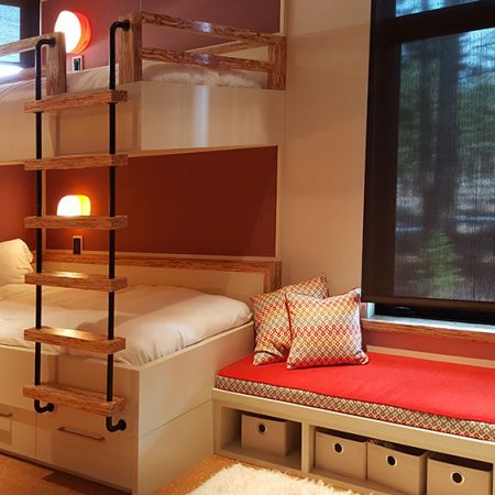 modern-bunk-beds-with-ladders-and-cubbies
