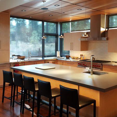 modern kitchen cabinets rich tones