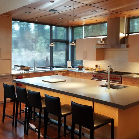modern kitchen cabinets rich tones