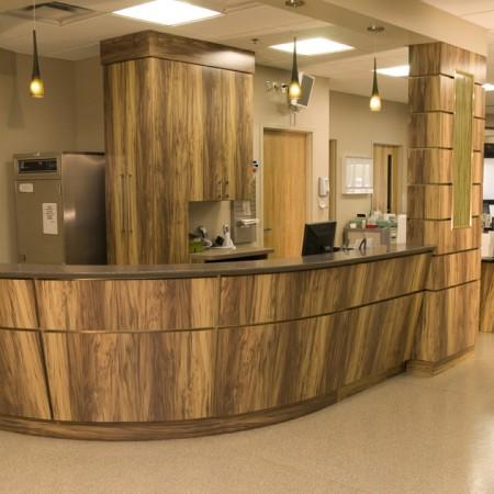 hospital ER nurse station